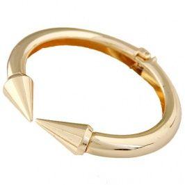 Exquisite European Style Fashionable Rivet Shaped Exaggerated Bracelet/Bangle Gold pas cher