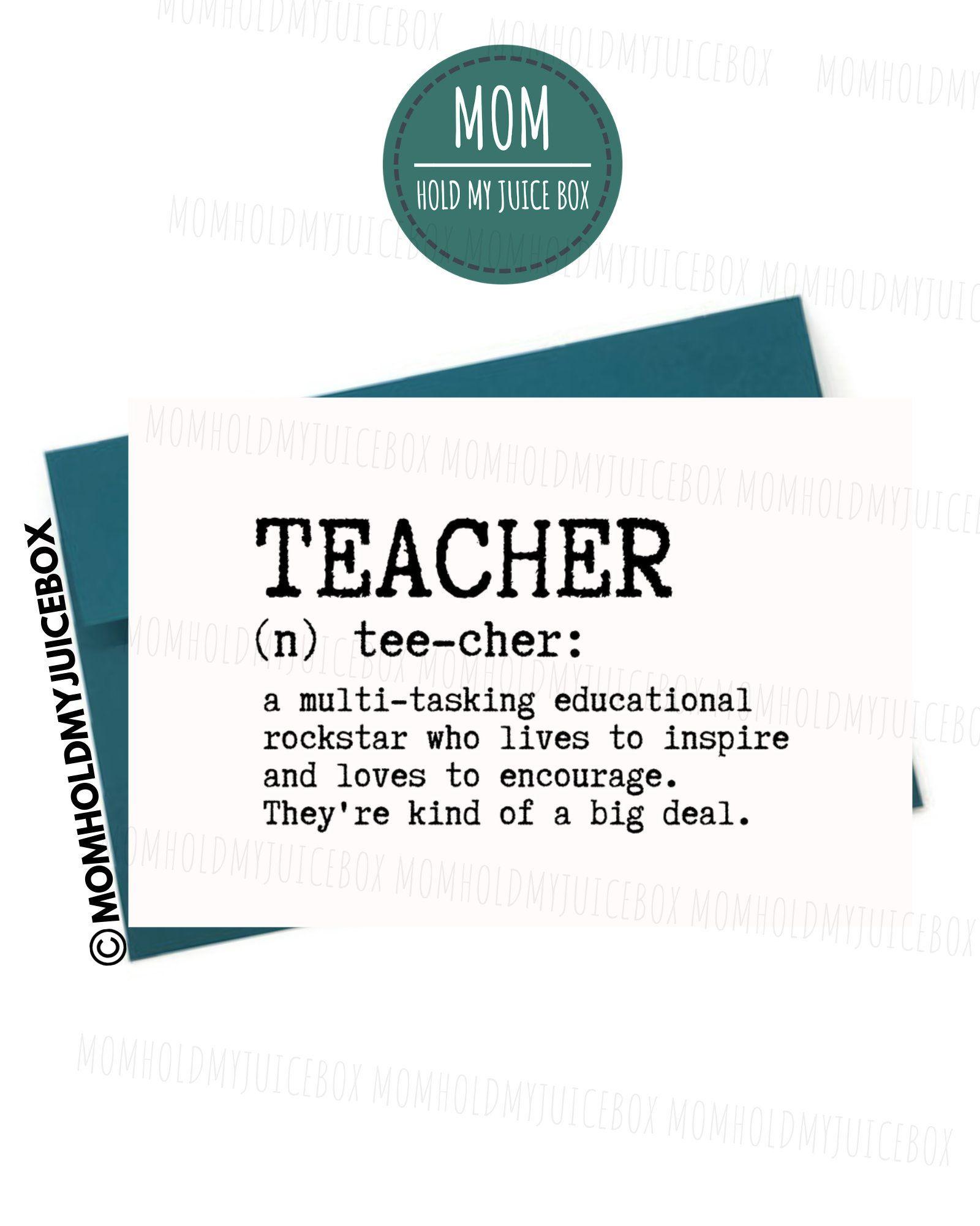 Teacher Appreciation Week Teacher Retirement Gift Thank