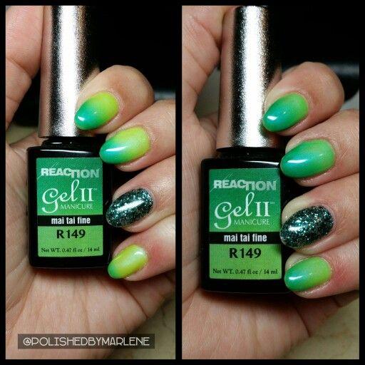 Gel Ii Temperature Reaction Polish In Mai Tai Fine Accent Finger Gelish Are