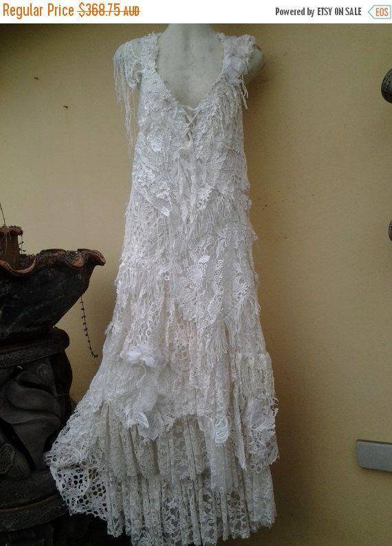 a7cb71d95481 20% di sconto da sposa boho abito vintage di formale spose cameriera  bohemien lagenlook zingara... media di 42