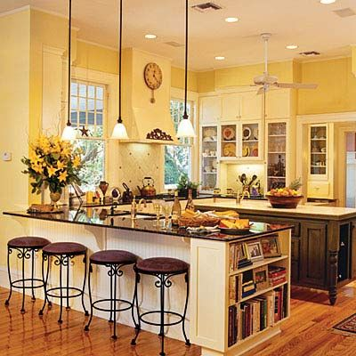 Yellow Kitchen Color Ideas kitchen remodeling ideas - small kitchens and photos | breakfast