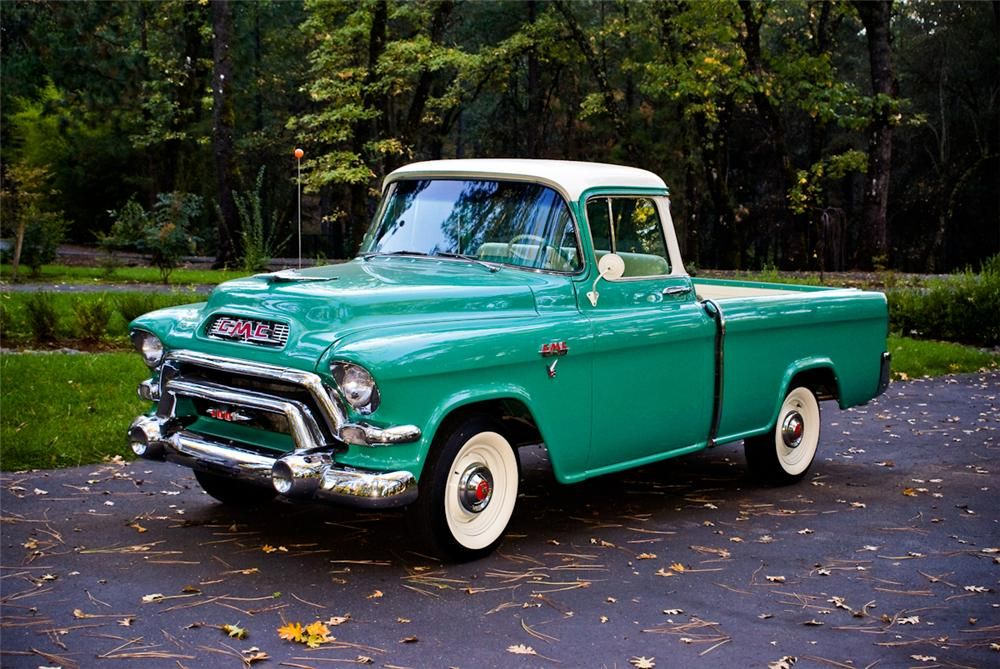 1956 Gmc Suburban Lot 756 Barrett Jackson Auction Company Chevy Trucks For Sale 1956 Chevy Truck Chevy Trucks