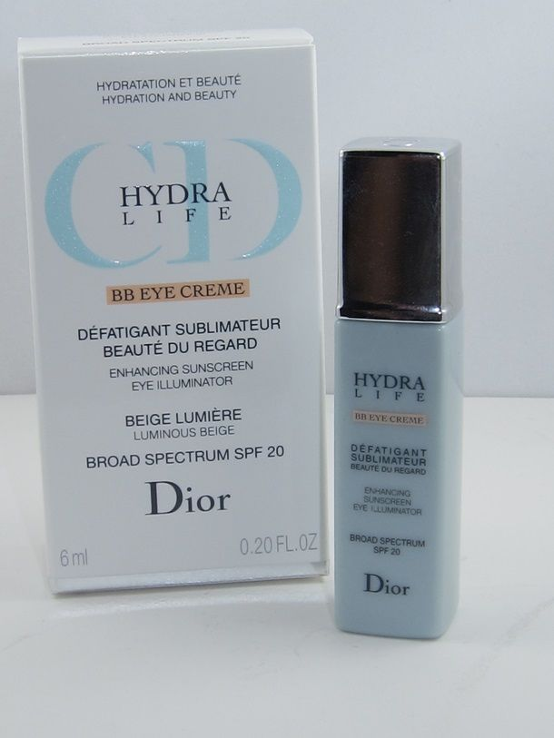 4b456706 Dior Hydra Life BB Eye Creme Review & Swatches | Make up | Dior ...