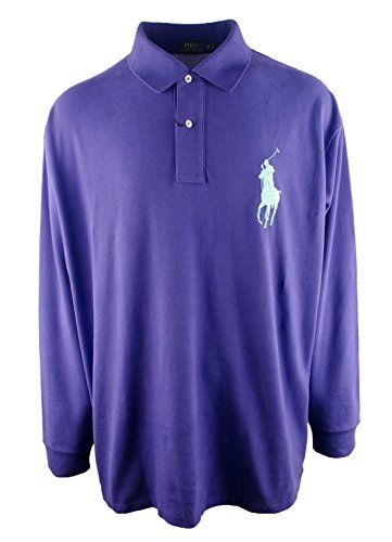 Polo RL Mens Big /& Tall Classic Fit Pony Polo Shirt