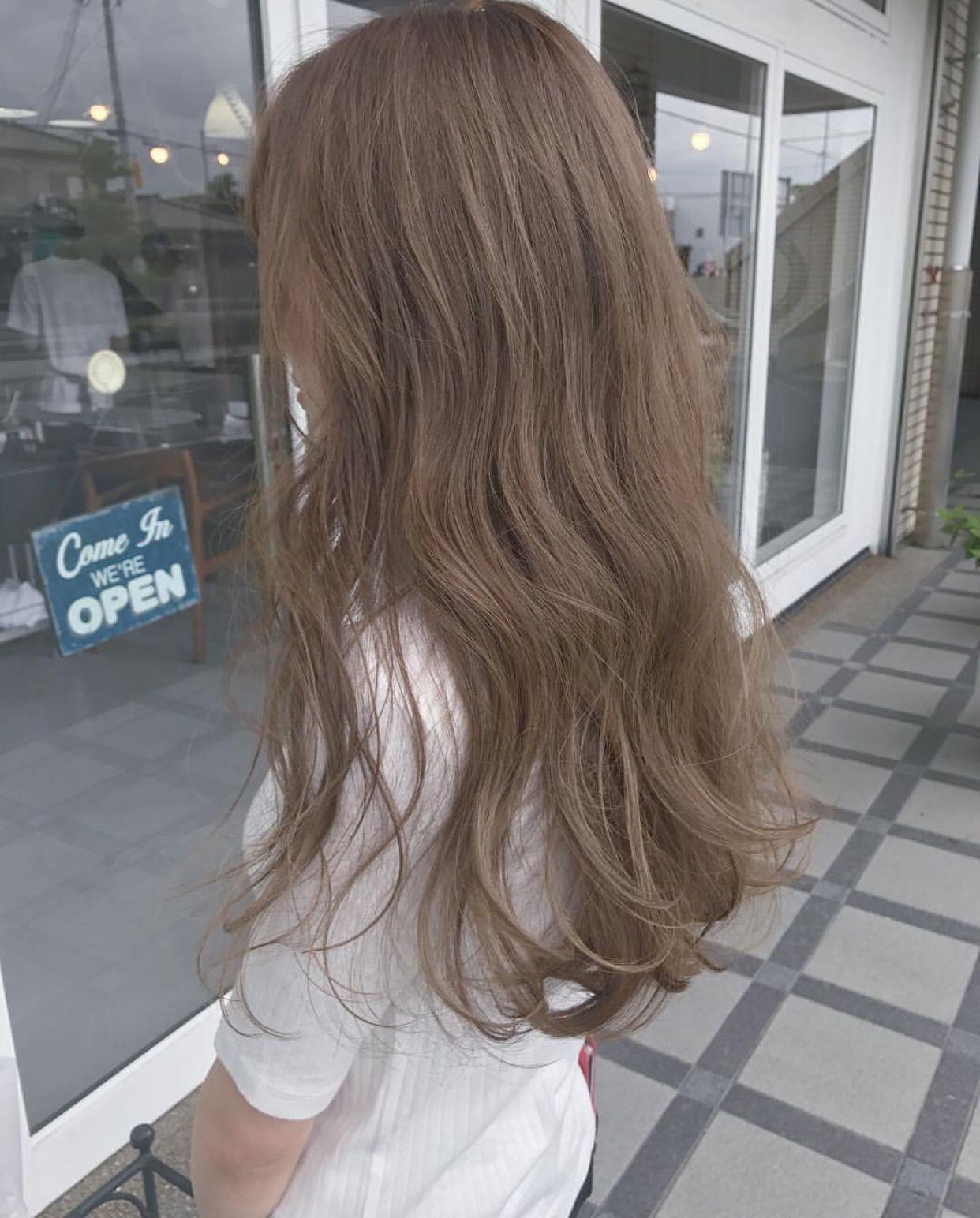 Light Brown Hair Ash Hair Color Korean Hair Color Light Hair Color