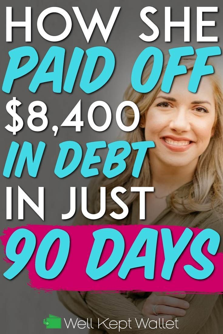 How she paid off 8400 in debt in just 90 days in 2020