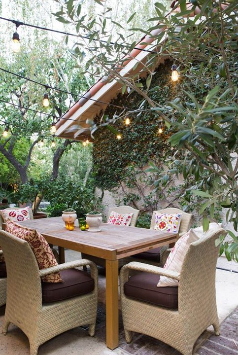 This looks like a great place to gather with family for a Friday night dinner don't you think?  If you're looking for a home with an outdoor space like this let me help you find it!
