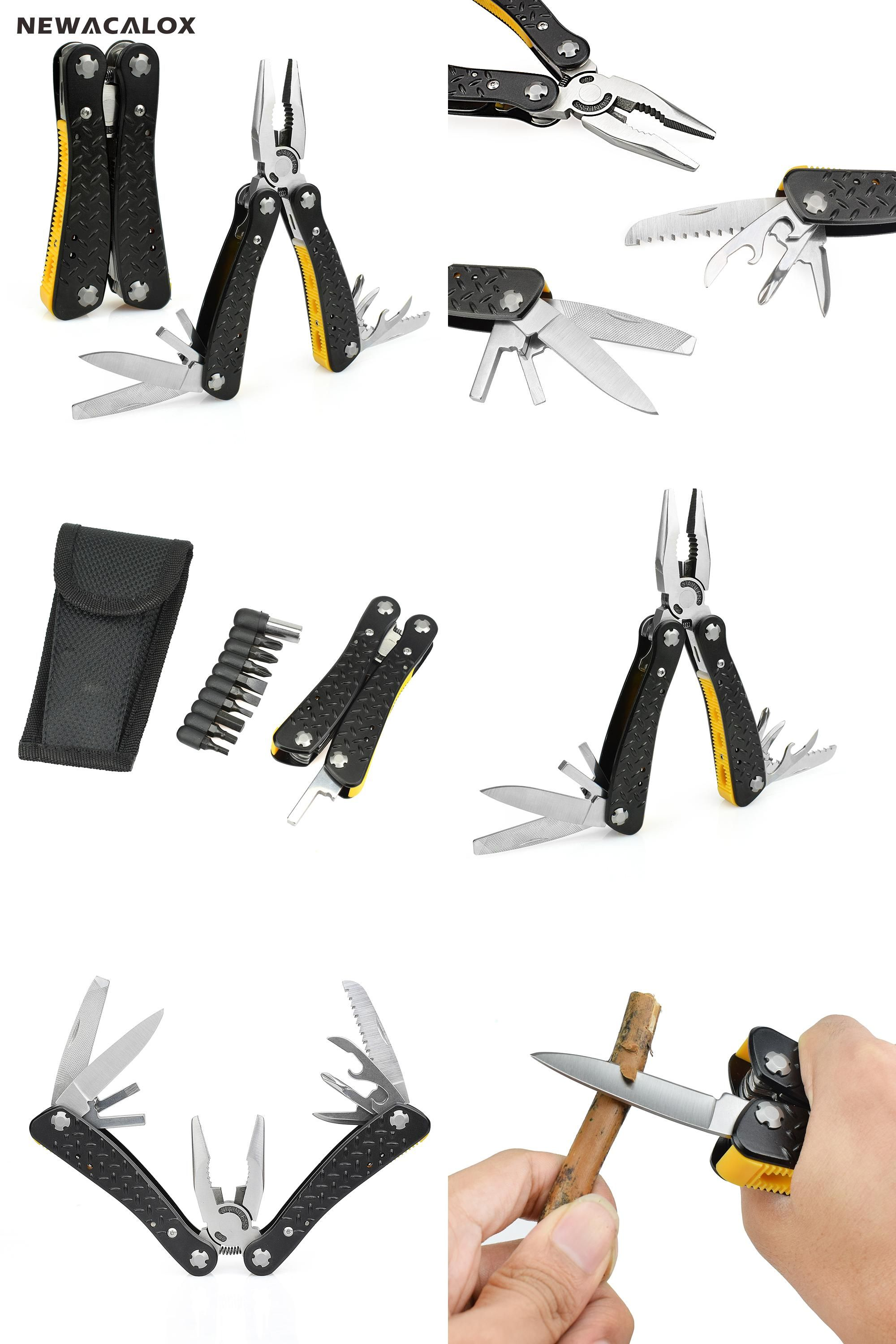 NEW Pocket Screwdriver Pliers Outdoor Survival Camping Multi-function Tool Set