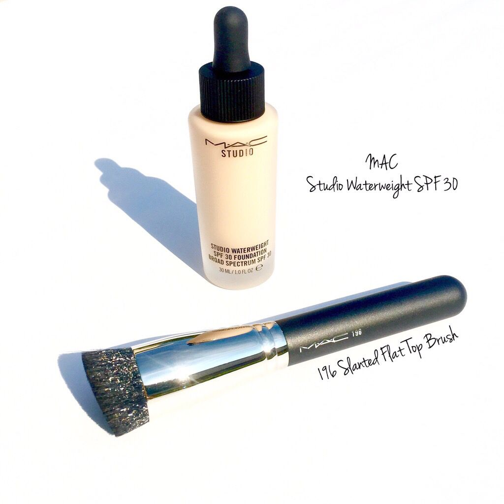 MAC does it again! Meet Studio Waterweight SPF 30 Foundation! Truly a foundation that covers beautifully, yet is INVISABLE on the skin. Studio Waterweight is neither too matte or too glowey. Just looks like perfected skin, the skin you always wanted. Best applied in my opinion with fingers tips pressing into skin, then go back in with a buffing brush or Beauty Blender for a seamless look. $33