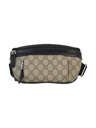 GUCCI Gucci Gg Supreme Canvas Belt Bag. #gucci #bags #belt bags #canvas #nylon #suede #lining #