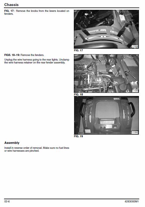 Massey Ferguson Gc2400 Gc2410 Gc2600 Gc2610 Tractors Service Workshop Manual V 2020 G