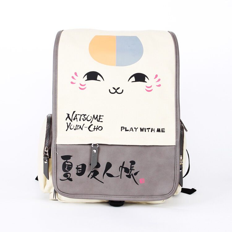 Natsume Yuujinchou FILP anime canvas backpack school travel fashion  shoulder bag - Travel Backpack  travel 2d5f358e43268