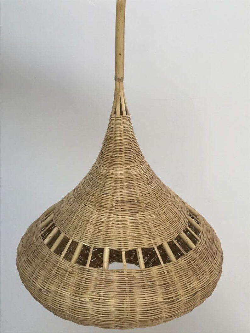 Moroccan Handmade Natural Rattan Lampshade Handmade Natural Rattan Lamp Shades