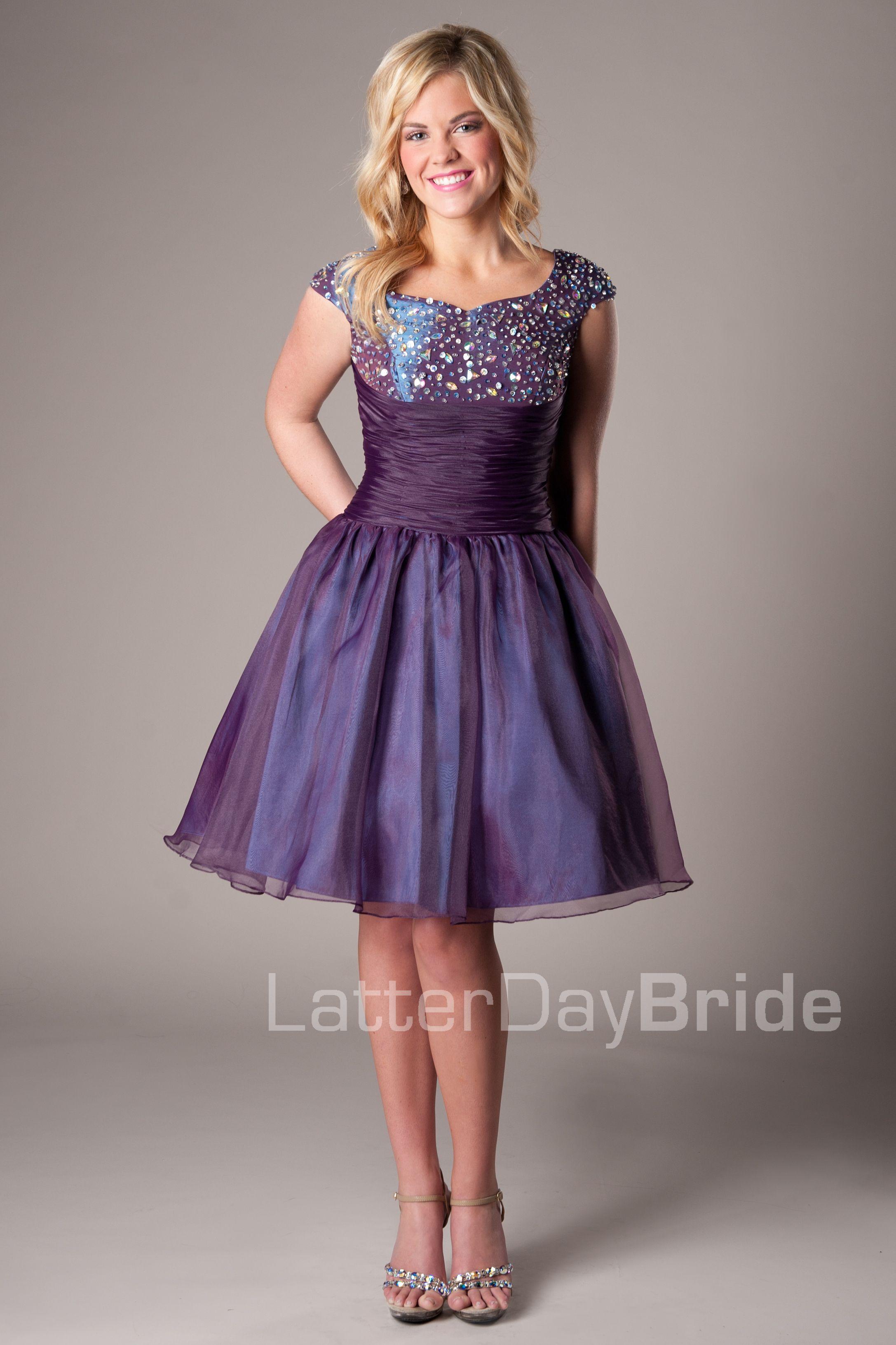 Alexa -Modest Mormon LDS Prom Dress | Modest Prom Dresses ...