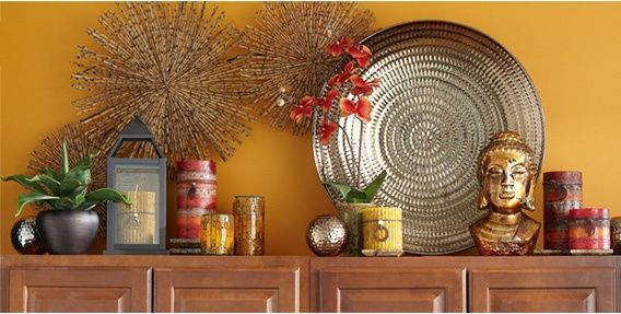 Ideas for Decorating Above Kitchen Cabinets ǀ Pier 1 ...