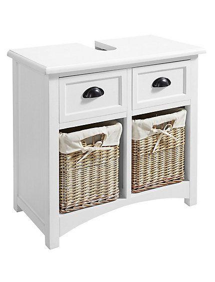 heine home - waschbeckenunterschrank weiß im heine online-shop