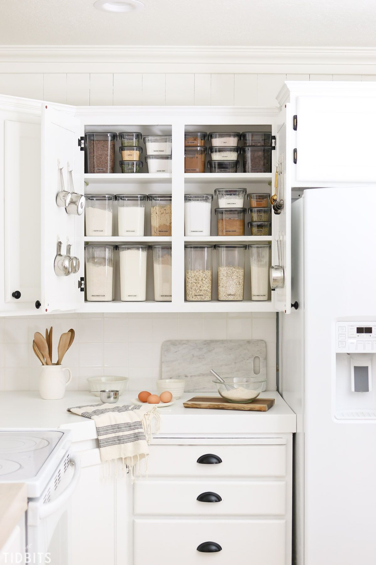 Baking Cupboard Organization With Images Cupboards