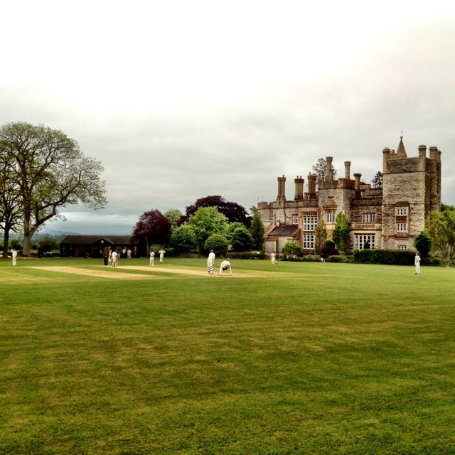 One of the most beautiful cricket grounds! Butleigh, Somerset, UK