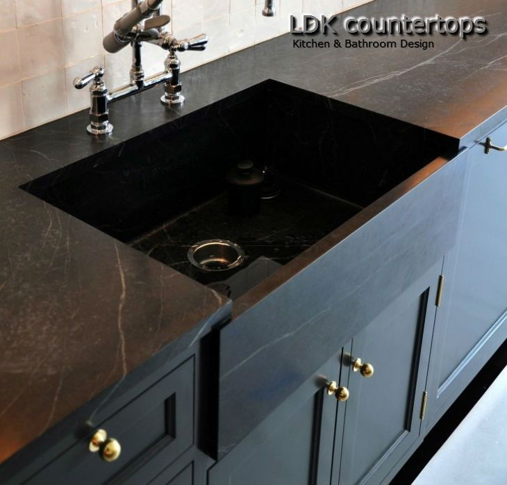 Black Soapstone Farmer Sink Soapstone Kitchen Soapstone