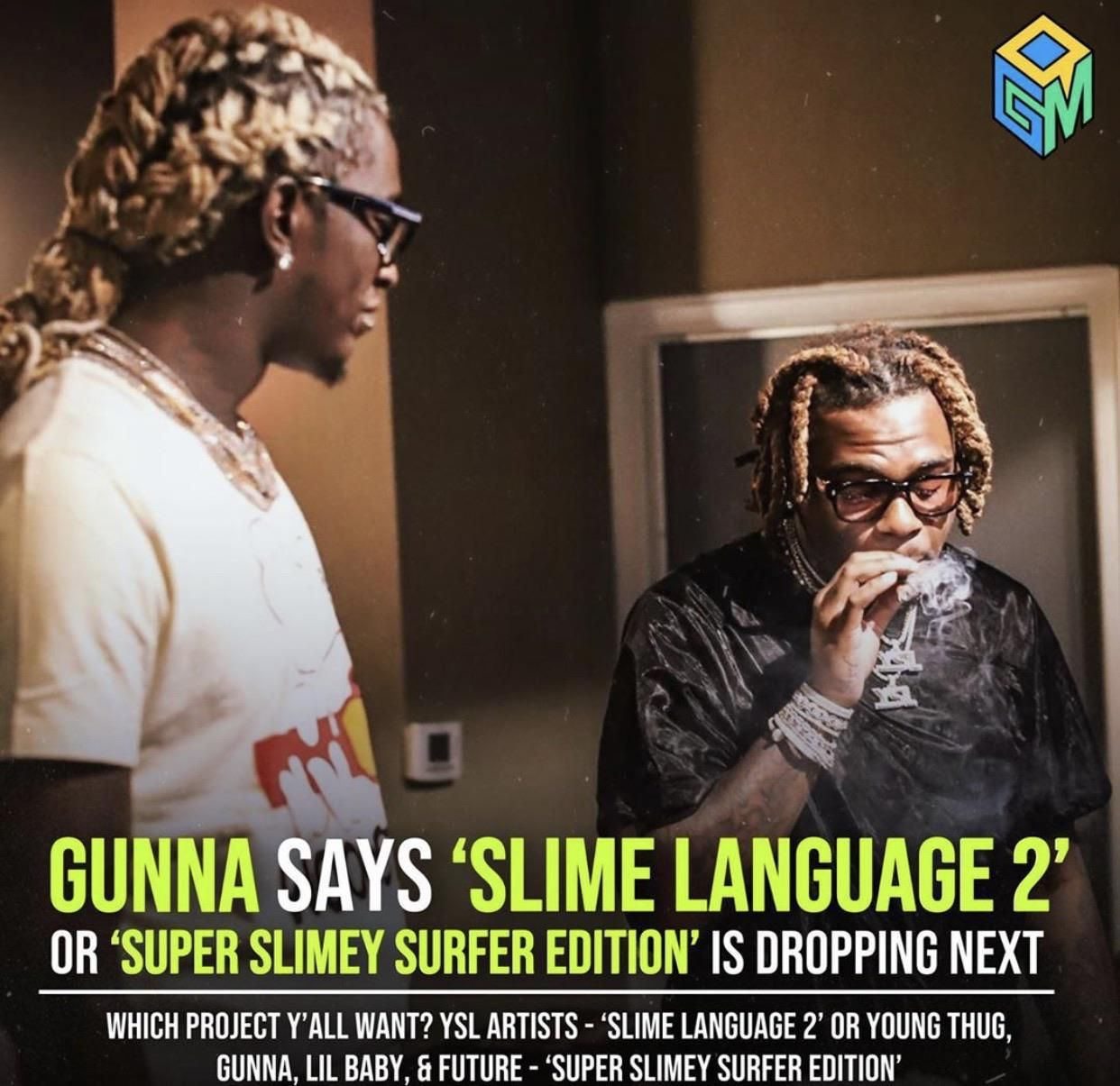 Who Thought Slime Language 2 Was A Good Idea Young Thug Young Lil Baby