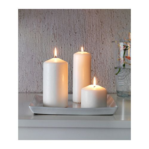 Ideal candle dish ikea soft feet stabilizes the candle holder and protects the underlying - Candele decorative ikea ...