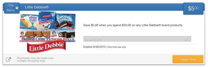 New Little Debbie One Or Many Offer On Savingstar Digital Coupons Print Coupons E Coupons