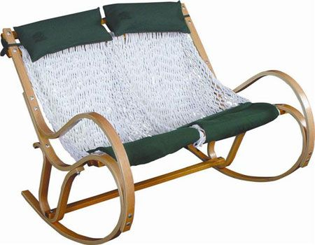 Merc Images S3 Aws 1205 Pawleys Island Hammock Style Double Polyester Rope Sling Rocker Rocking Chair