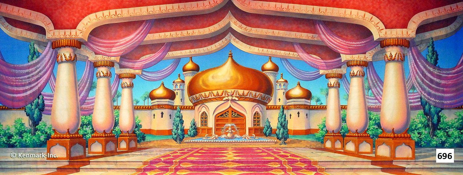 696D Arabian Courtyard
