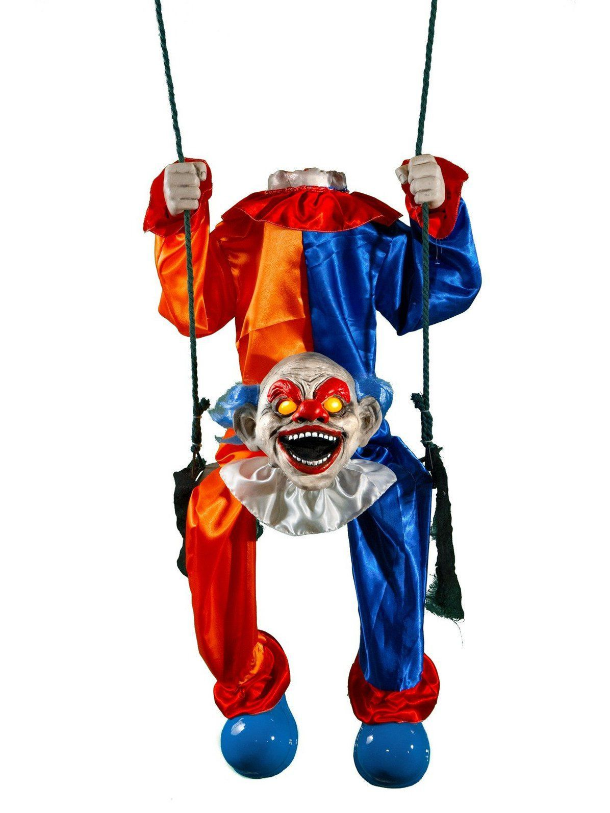 Animated Headless Clown On Swing Animated halloween