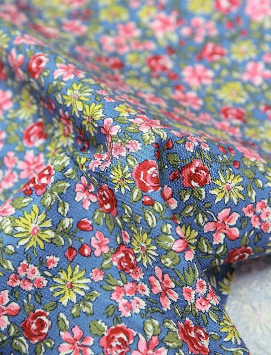 cotton 1yard 44 x 36 inches 64481 by cottonholic on Etsy