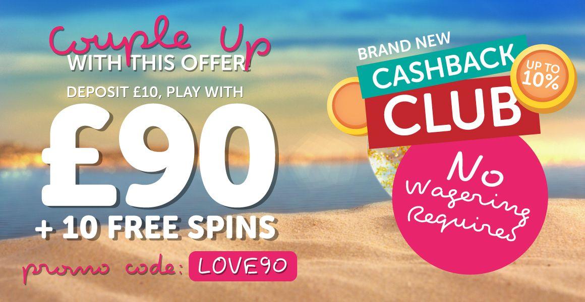 10 Cashback Bingo Love Offer At Sundae Bingo Bingo Bingo