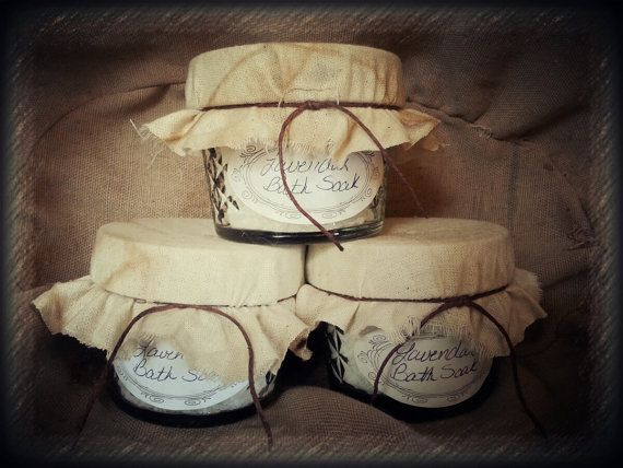 100% Natural Bath Soaks by CountryViewPrimitive on Etsy