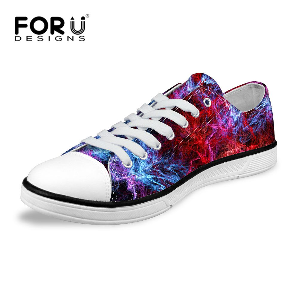 2b703ecc5fe Classic Multicolor Women Canvas Shoes Stylish Galaxy Star Space Flat Shoes  Casual Female Girls Canvas Walking Shoes High Quality