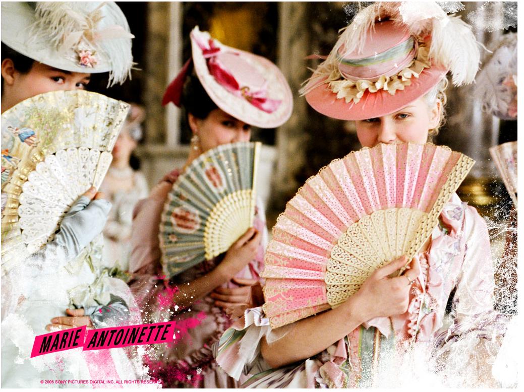 Kirsten Dunst in Marie Antoinette.
