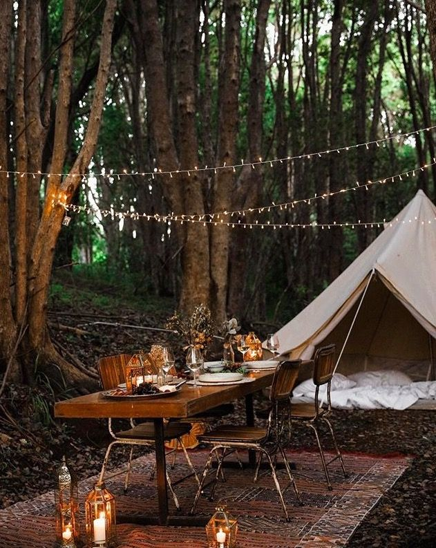 Gl&ing Picnic in the Forest - Breathe Bell Tents Australia & Bell_Tent_Protech_Canvas_Tent http://camperlovers.org/comfortable ...