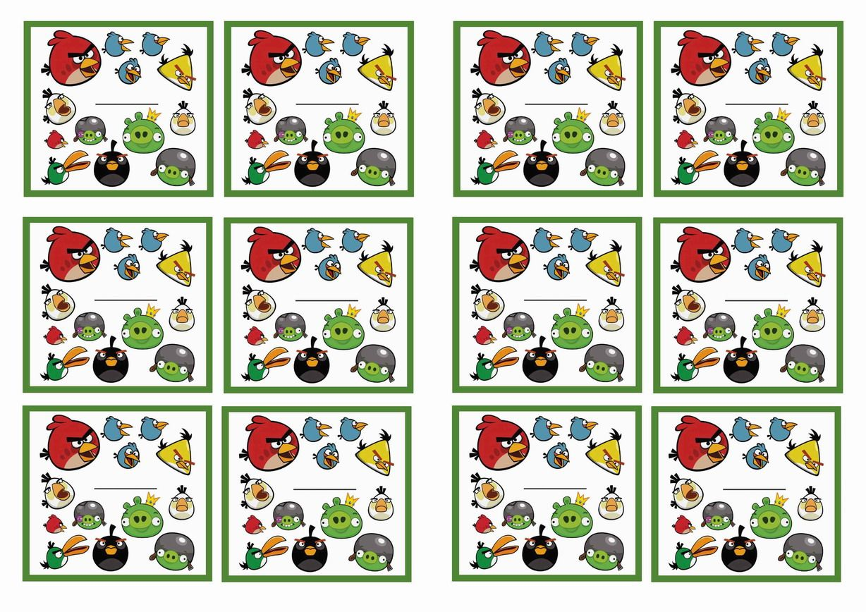 angry birds images to print - photo #25
