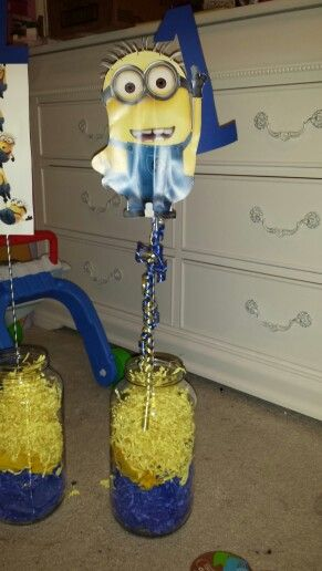 Despicable Me Minion Centerpieces