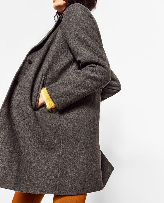 Abrigo 2016 Invisible Imagen De Costura Fall Pinterest Zara 3 FPWUxqEv