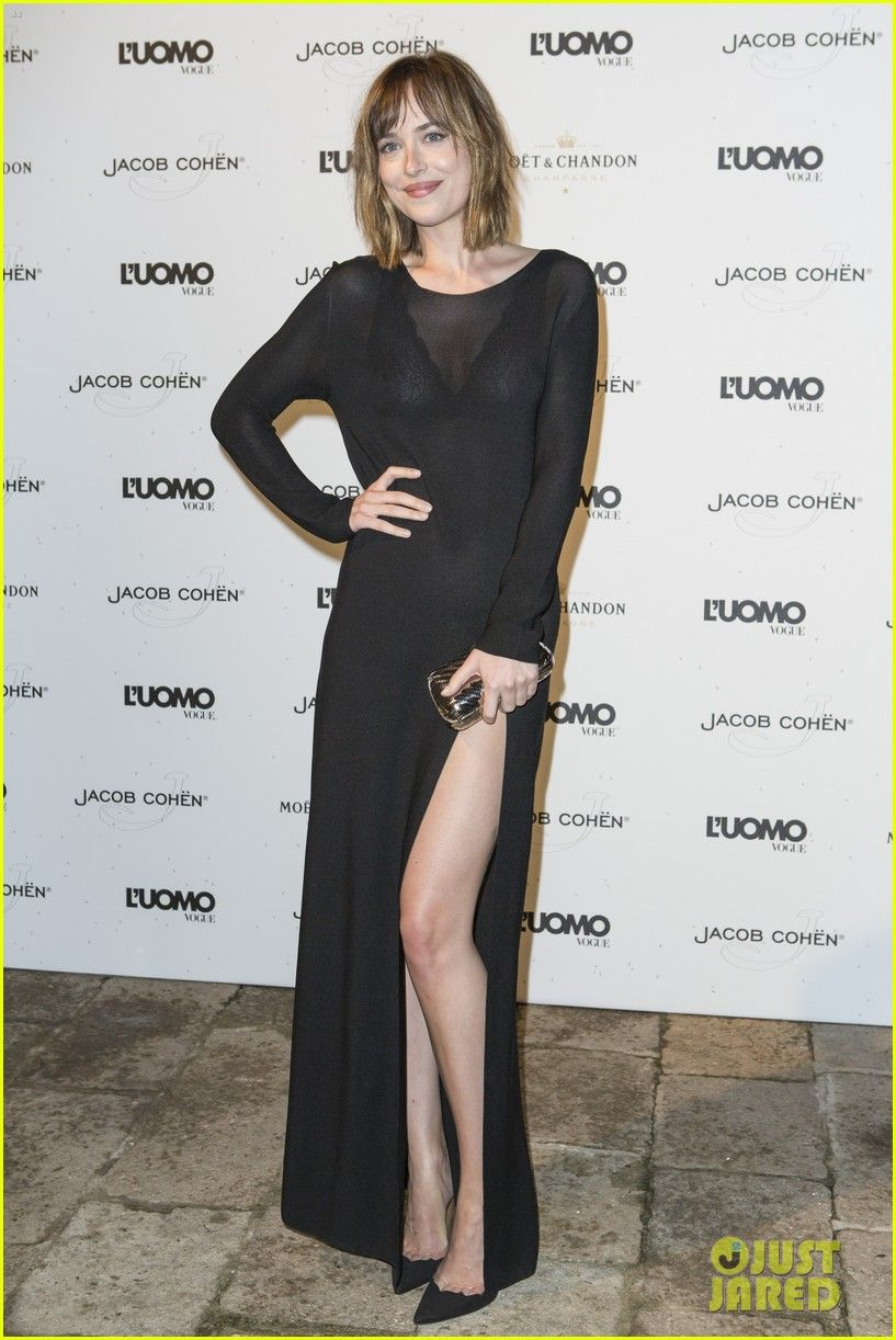 dakota johnson tilda swinton luomo vogue party 05 Dakota ...