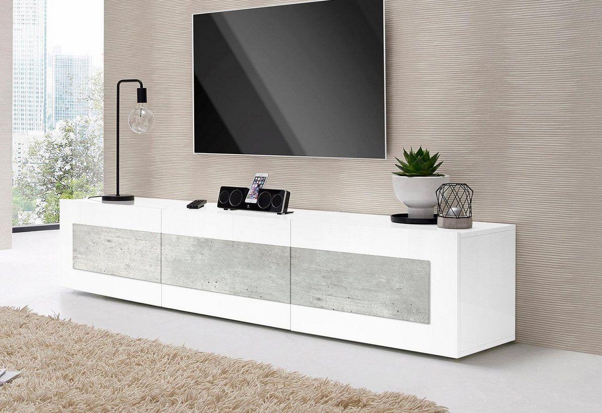 Tecnos Lowboard Breite 200 Cm 3 Klappen Online Kaufen Lowboard