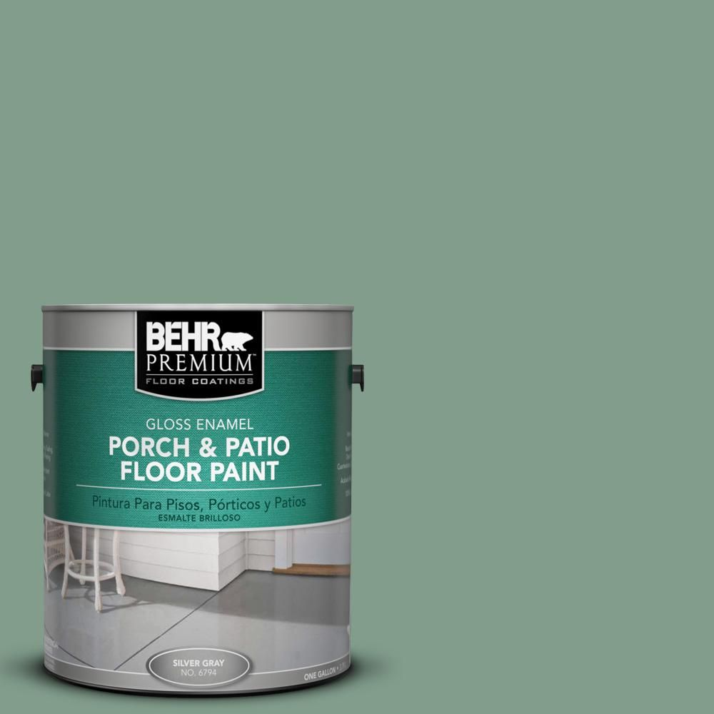 BEHR Premium 1 gal. #S410-5 Track Green Gloss Porch and Patio Floor Paint