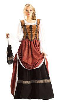 bcf1c60ab35 English lower class 1700s dress
