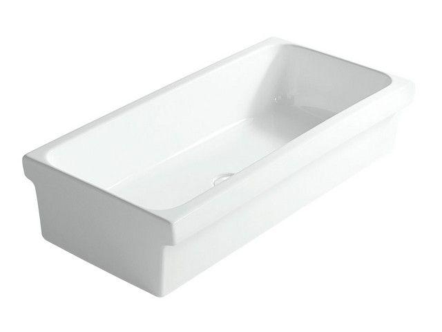 Rimini lavabo a canale 90 lavabi bagno pinterest for Lavabo rimini