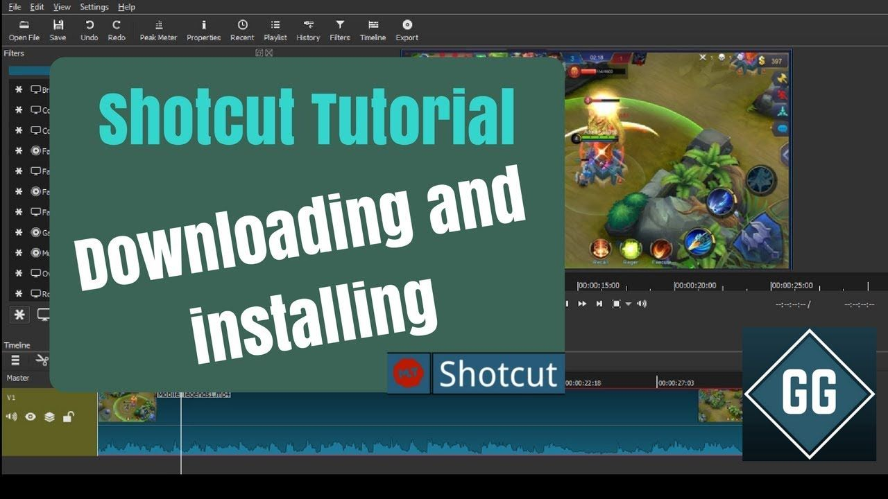 How to easily download and install SHOTCUT Video Editor For