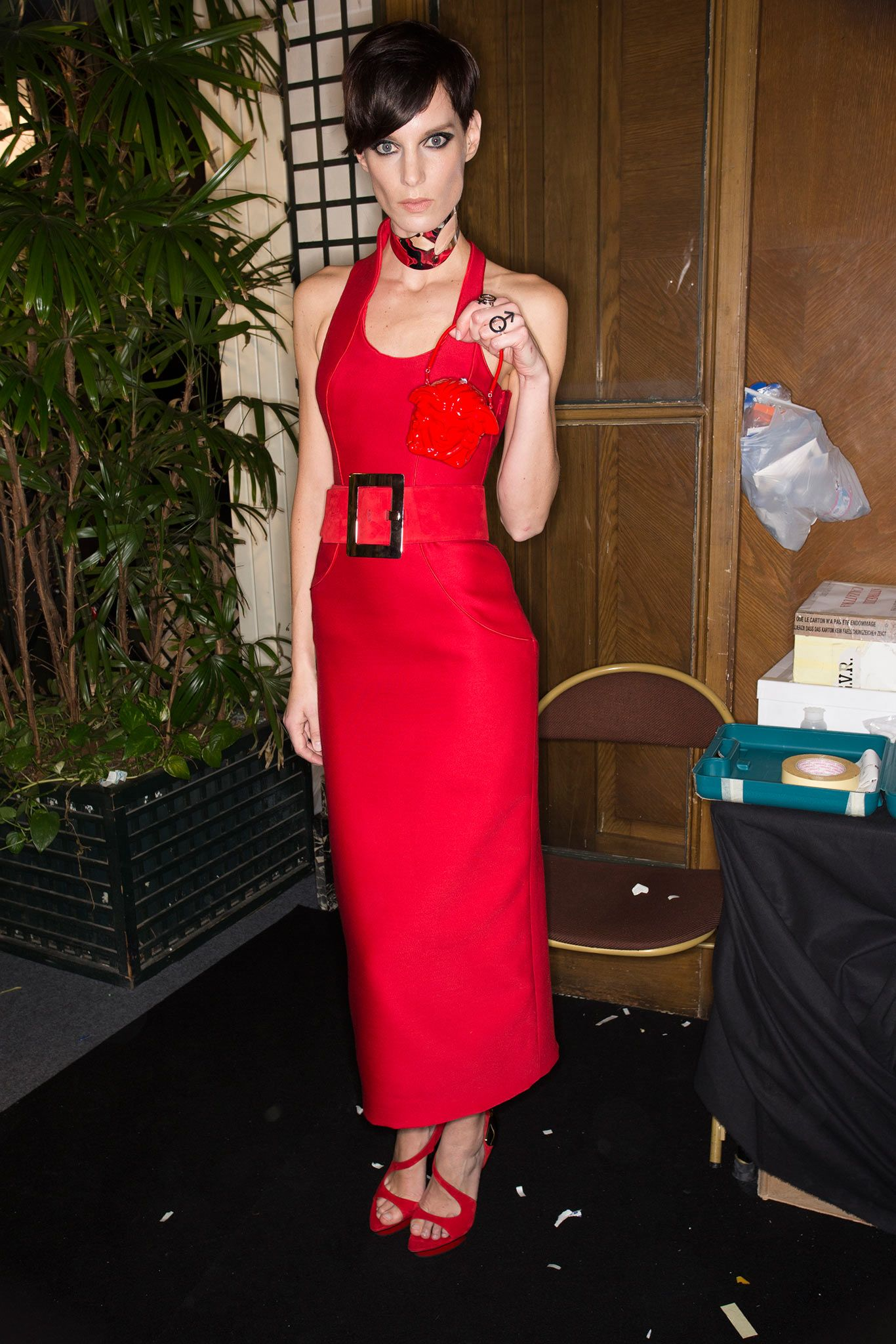 Atelier Versace Spring 2015 Couture - Beauty - Gallery - Style.com
