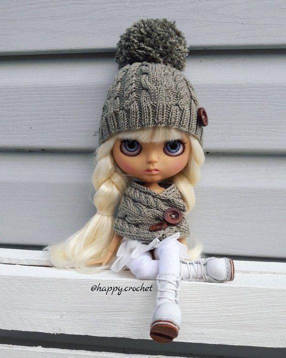 Pattern of hat For Blythe dolls PDF