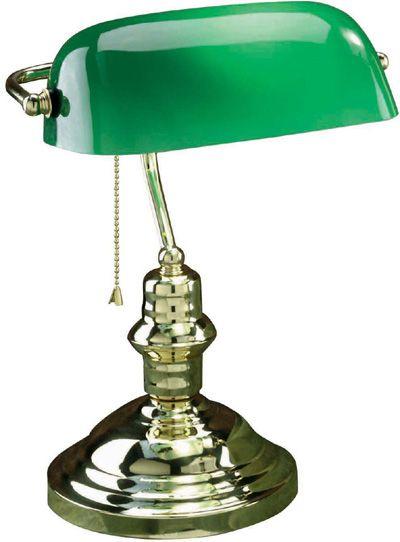 American Library Lamp Brass Desk Lamp Desk Lamp Bankers Desk Lamp