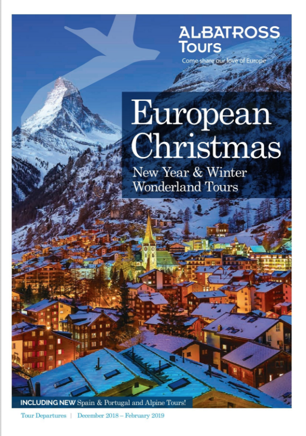 Albatross Tours European Christmas 2018 brochure | Travel