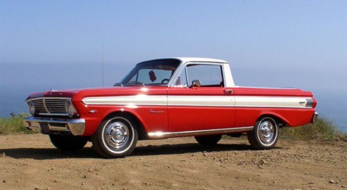 hemmings find of the day 1965 ford ranchero