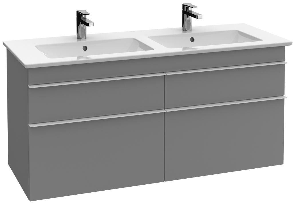 Villeroy boch venticello vanity unit for cabinet double washbasin santana oak villeroy for Villeroy and boch bathroom vanity units